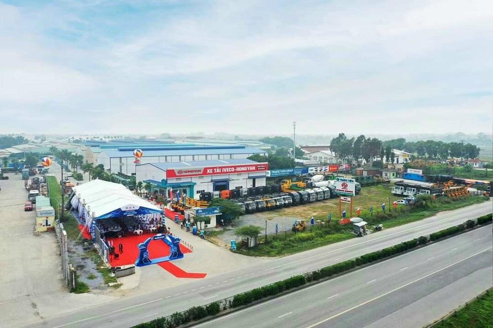Kho xe Nhà máy tại Quốc lộ 5, Hưng Yên